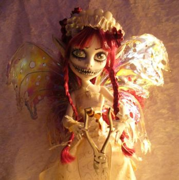 Custom OOAK Monster High Tooth Fairy by redmermaidwerewolf