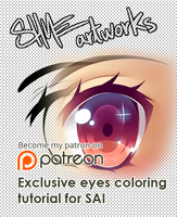 Manga eyes tutorial by ShineArtworks