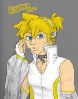 Kagamine Len by MousieDoodles