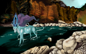 Suicune by Speras