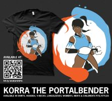 Korra the Portalbender by digitalfragrance