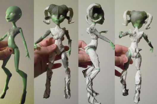 Bare Body Mods: MH Pan's Labyrinth Faun by mourningwake-press