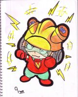 9-Volt from WarioWare by popcorn1010