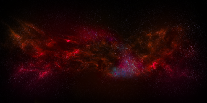 Galaxy Wallpaper (Red Variant) [4000x2000] by TonyKGFX
