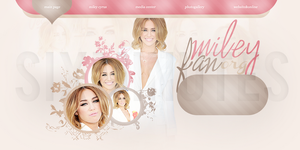 Miley Cyrus Premade by wesoasian