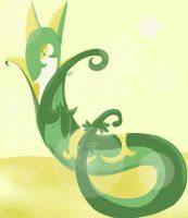 Serperior (Pallet Challenge #1) by Emi-the-InuGami
