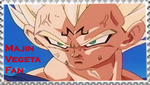 Majin Vegeta fan stamp by VegetasLittleLover