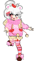 .:ADOPT AUCTION:. Valentines Teddy Bear [CLOSED] by koteu