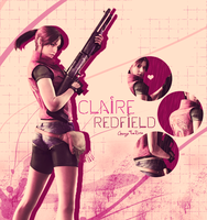 Claire Redfield by AnogaTheRose