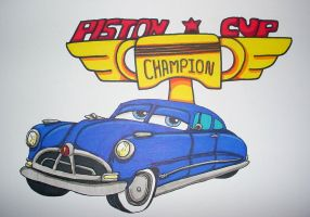 Doc Hudson by TaiOMega by Radiator-Springs