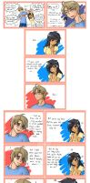 OOC Cutie Eyes Comic Strip by randomsketchez