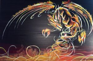 Fire Dragon by ingridmi