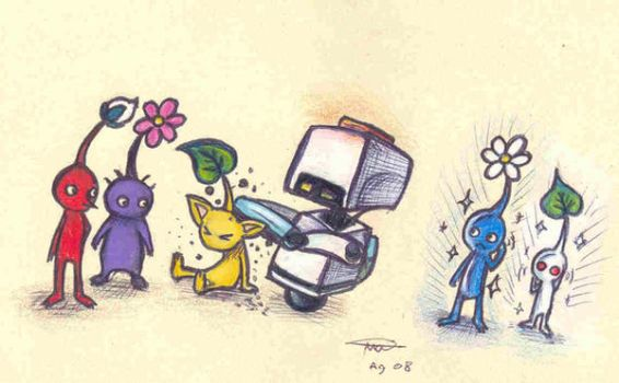 Mo meets the Pikmin by who-stole-MY-name