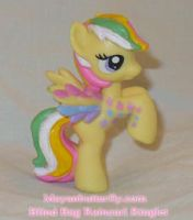 Blind Bag Ringlet Custom Pony by mayanbutterfly