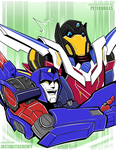 Commission: Skids and Getaway by justabitscrewy