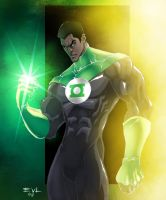 The Green Lantern by ErikVonLehmann