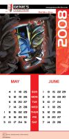 Genies Collection Calendar 003 by hamdankhatri