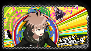 Naegi Makoto PS Vita Lockscreen by EdwinprGTR