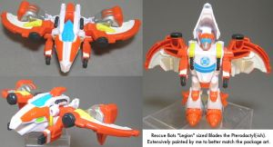 Rescue Bots Dinobot Blades touchup by dvandom
