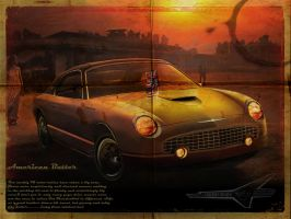 Ford Thunderbird Retro Design by phareck
