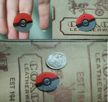 pokeball charm by aliciamarie923