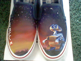 Wall-E shoes by Lemguin