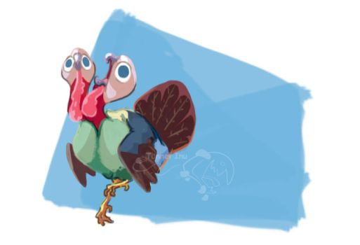 Gobble Gobble by tunnelinu