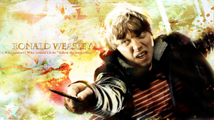 Ronald Weasley - Follow the butterflies by Asahi-chan