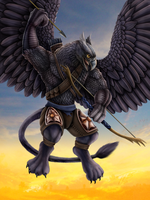 Griffin Sky Sentinel by DragonosX