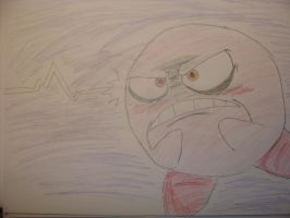 Anger Kirby by RgRob64
