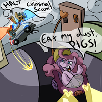 Ponyville Cops by PonyGoggles