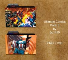 Ultimate Comics Folder Pack 3 by 3o1415