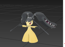 Mega Mawile 3d model *WIP* by OoNickt