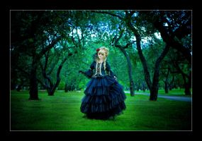 Hizaki: Secret Garden by general-kuroru