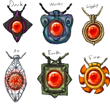 Pendant Designs by NovaTheArtist