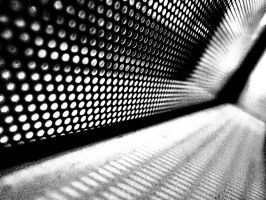 dots in a corner by awjay