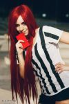 Katarina Red Car cosplay 4 by staisis-lovespurple