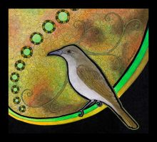 Brown Honeyeater as Totem by Ravenari