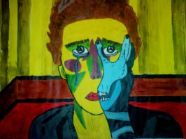 Picasso Inspired Portrait by Jorec