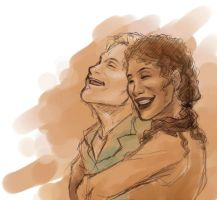 Firefly - Wash and Zoe by bluestraggler