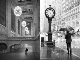 Grand Central + 5th Ave by elementality