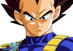 Vegeta - Dragonball Kai AS V.2 by Zed-Creations