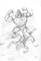 Spiderman Defeated Prelim by ChrisMcJunkin