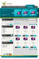 Webshop Design 3 - Categories by VosjeE