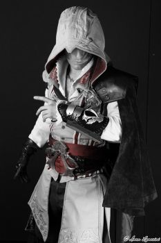 Ezio Auditore Cosplay - Assassin's Creed by Leon C by LeonChiroCosplayArt