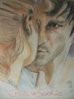 Season 1 Bill and Sookie by fbforbill