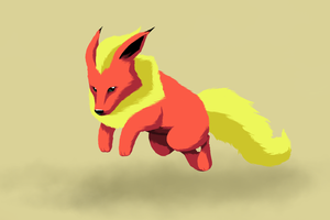 Flareon by Vovolov