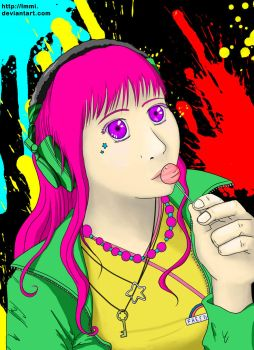 Colours and Lollipop by lmmi