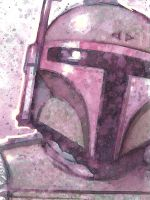 Boba Fett sketchcard by JasonGoad