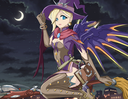 Mercy Halloween by Icesticker